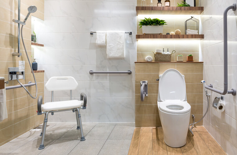Elderly & Disabled Bathrooms - Quality Bathroom Renovations Providing Elderly & Disabled Bathroom design and renovations for Sydney Suburbs in NSW Australia