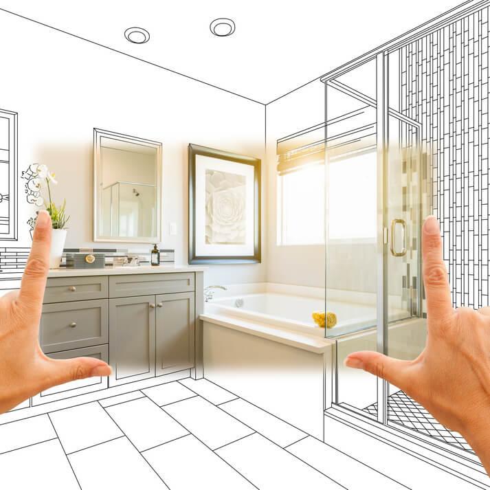 Bathroom renovation Wollongong 2500 - Design