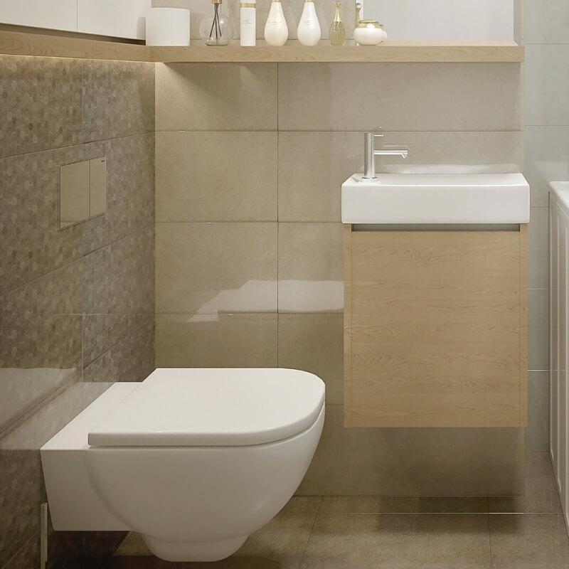 ensuite bathroom streamlined sanitaryware
