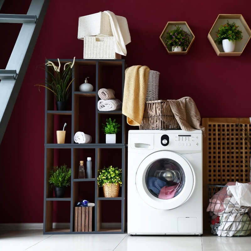 laundry design ideas add colour to laundry room