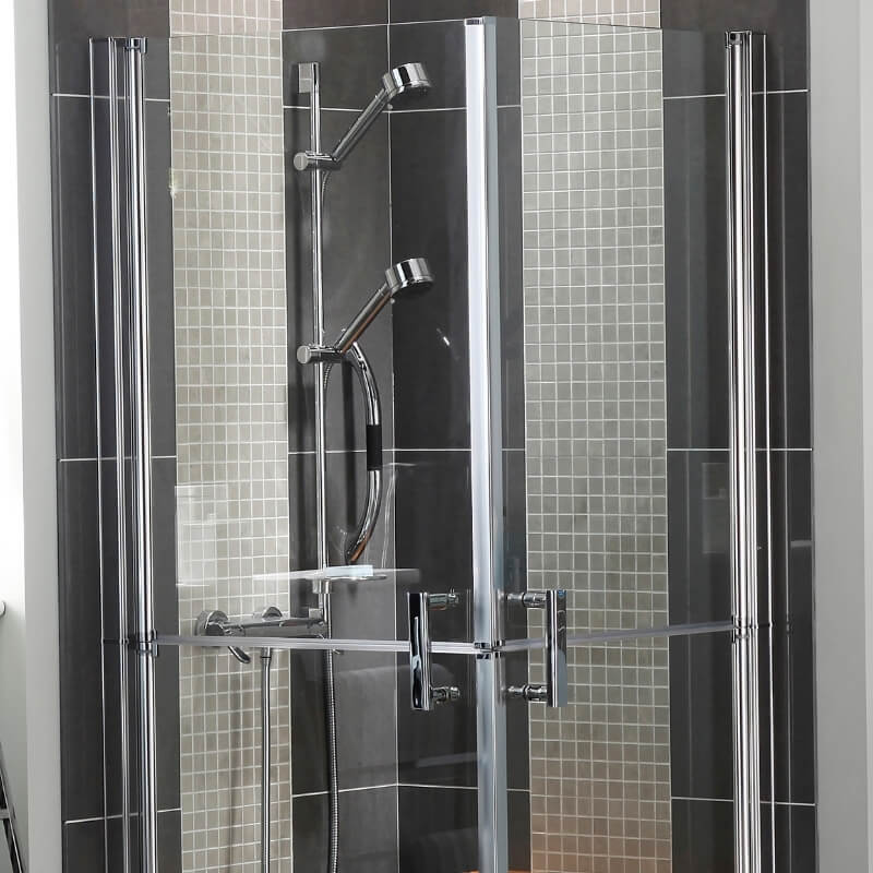 adjustable shower head in bathrooms for the elderly and disabled
