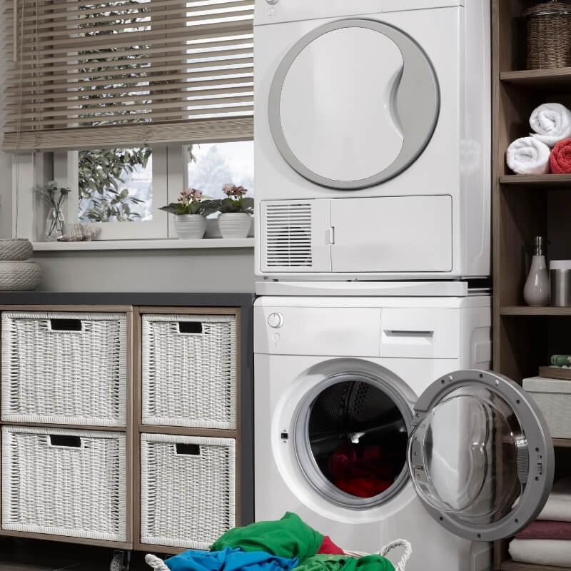 laundry design ideas basket storage in laundry renovations sydney