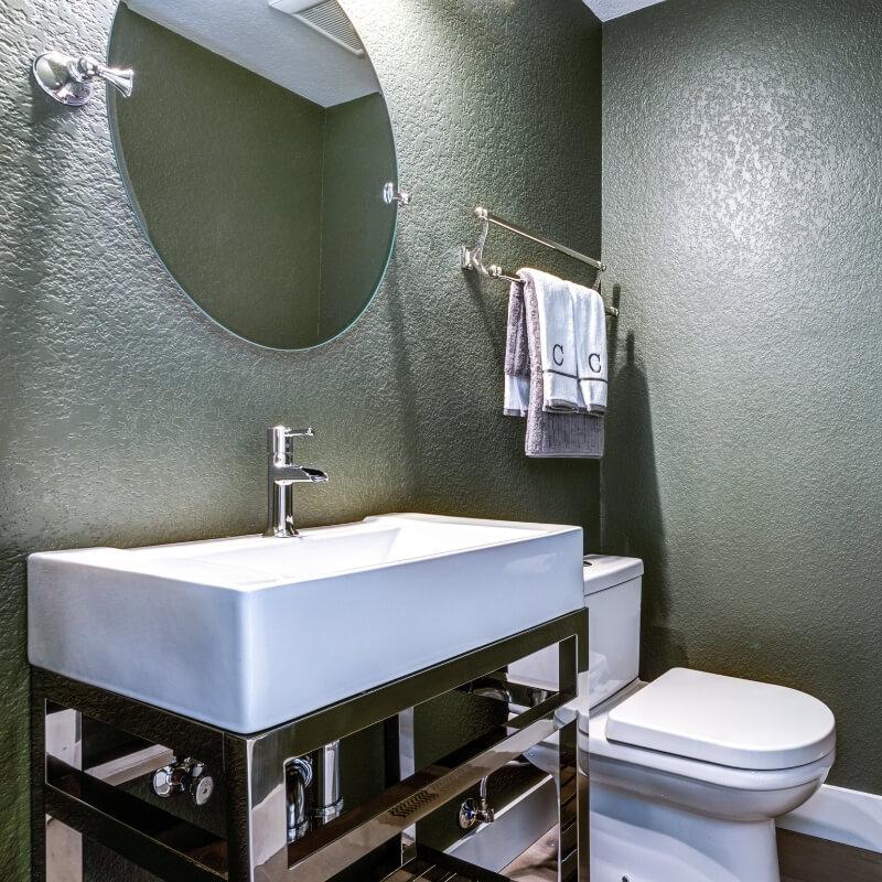 luxury bathroom rainwater showerhead