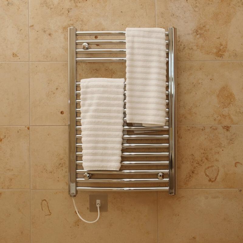 heated towel rail bathroom renovation