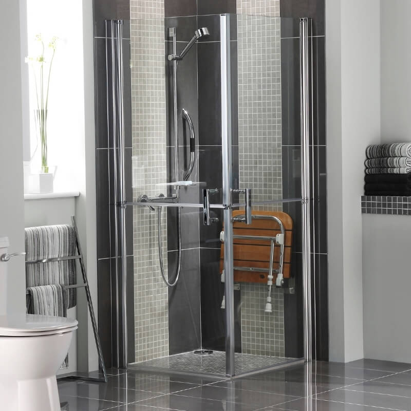 shower seat bathroom design ideas for elderly and disabled