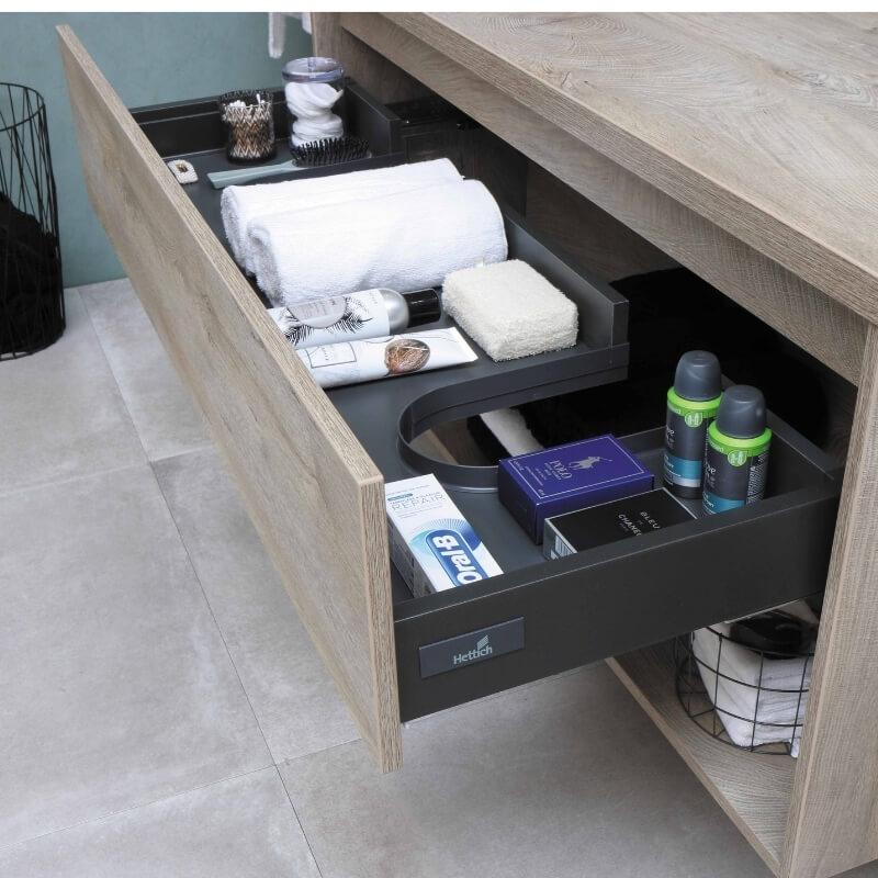bathroom storage ideas - drawer organiser